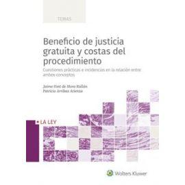 Beneficio de justicia gratuita y costas del procedimiento. Ebook