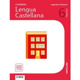 Cuaderno de lengua castellana 6º Primaria. 2º Trimestre