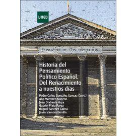 Historia del pensamiento político español del Renacimiento a  nuestros días
