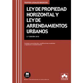 Ley de Propiedad Horizontal y Ley de Arrendamientos Urbanos 2019