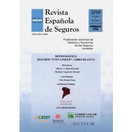 Revista Española de Seguros, Nº 176. Octubre-Diciembre 2018