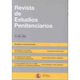 Revista de Estudios Penitenciarios, 2013 Extra. In Memoriam del Profesor Francisco Bueno Arús