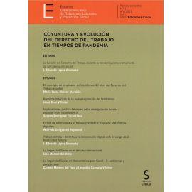 Estudios latinoamericanos de relaciones laborales y protección social nº 11 año 2021 vol. I Coyuntura y evolución del derecho del trabajo en tiempos de pandemia