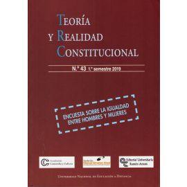 Teoría y Realidad Constitucional Nº 43-1º semestre 2019