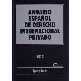 Anuario Español de Derecho Internacional Privado 2013 Tomo XIII