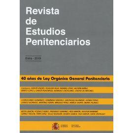 Revista de estudios penitenciarios. Extra 2019. 40 Años de Ley Orgánica General Penitenciaria