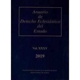 Anuario de Derecho Eclesiástico del Estado 2019 Vol. XXXV