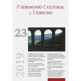 Patrimonio Cultural y Derecho. Número 23. 2019