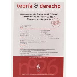 Teoría & Derecho. Revista de pensamiento jurídico 26/2019
