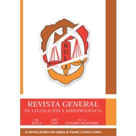 Revista General de Legislación y Jurisprudencia 2020 Papel + Online. Suscripción para España