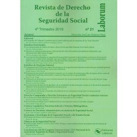 Revista de Derecho de la Seguridad Social Nº 21. 2019 / 4º Trimestre