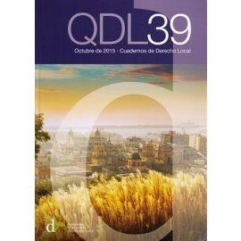 Cuadernos de Derecho Local Nº 39 Octubre 2015