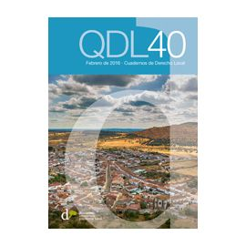 Cuadernos de Derecho Local Nº 40 Febrero 2016 QDL40