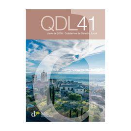 Cuadernos de Derecho Local Nº 41 Junio 2016 QDL 41