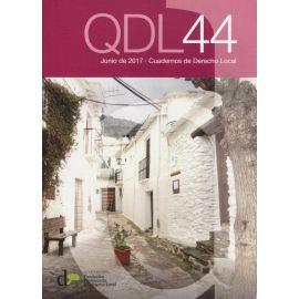 Cuadernos de Derecho Local Nº 44 Junio 2017