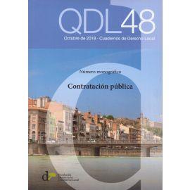 Cuadernos de Derecho Local Nº 48 . Octubre 2018. Número monográfico: Contratación Pública