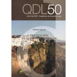 Cuadernos de derecho local nº 50 Febrero 2019. Prestación de servicios públicos