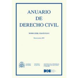 Anuario de Derecho civil, 72/01. 2019 Enero-Marzo