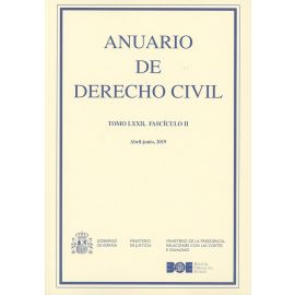 Anuario de derecho civil, 72/02 Abril-junio, 2019