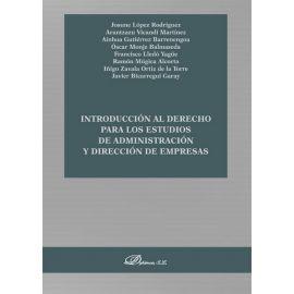Introducción al derecho para los estudios de administración y dirección de empresas.
