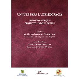 Un juez para la democracia. Libro homenaje a Perfecto Andrés Ibáñez