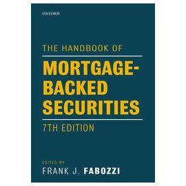 Handbook of Mortgage-Backed Securities