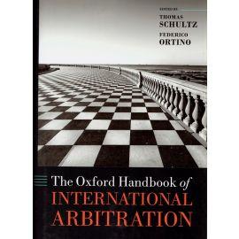 Oxford handbook of international arbitration