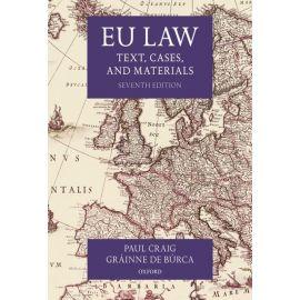 EU Law. Text, Cases, and Materials