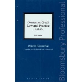 Consumer credit law and practice. A guide