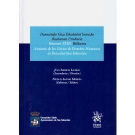Anuario de los Cursos de Derechos Humanos de Donostia-San Sebastián 2018. Vol. XVIII
