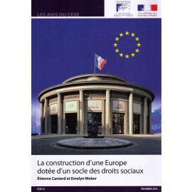 Construction d'une Europe dotée d'un socle des droits Sociaux