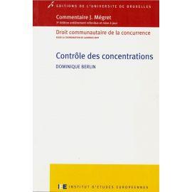 Controle des concentrations