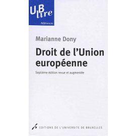 Droit d l'Union Européenne