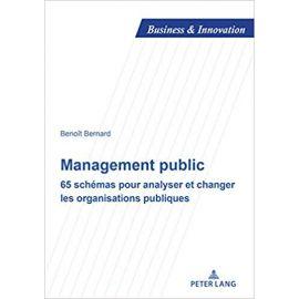 Management public. 65 schémas pour analyser et changer les organisations publiques
