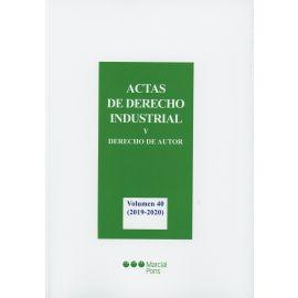 Actas de Derecho Industrial y Derecho de autor, 40. 2019-2020