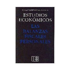 Balanzas Fiscales Personales. Revista del Instituto nº 4/ 2007