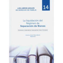 Liquidación del régimen de separación de bienes. Libros AZULES de Derecho de Familia 14