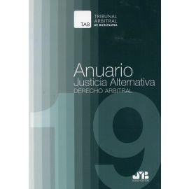 Anuario Justicia alternativa nº 15, año 2019. Derecho arbitral