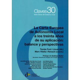 Carta Europea de Autonomía Local a los treinta años de su aplicación: balance y perspectivas
