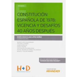 Constitución Española de 1978: Vigencia y Desafíos 40 Años Después
