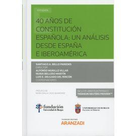 40 Años de Constitución Española: Un Análisis desde España e Iberoamérica.