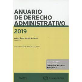 Anuario de derecho administrativo 2019
