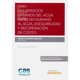Servicios urbanos del agua: derecho humano al agua, asequibilidad y recuperación de costes