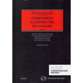 Comentarios al Código Civil de Cataluña 2 Tomos 2020