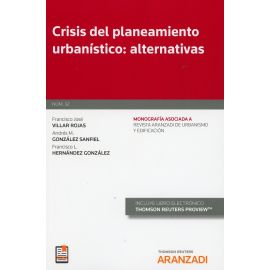 Crisis del planeamiento urbanístico: alternativas