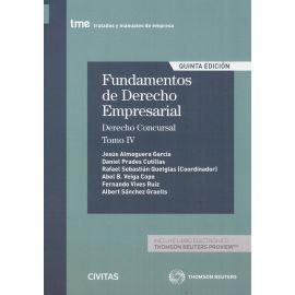Fundamentos de Derecho Empresarial, 04 /2020. Derecho Concursal