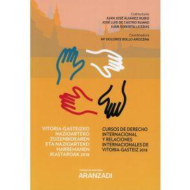 Cursos de derecho internacional y relaciones internacionales de Vitoria-Gasteiz 2018.                Vitoria-Gasteizko nazioarteko zuzenbidearen eta nazioarteko harremanen ikastaroak 2018