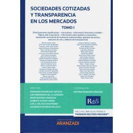 Sociedades Cotizadas y Transparencia en los Mercados Tomo I y II
