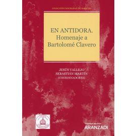 En Antidora. Homenaje a Bartolomé Clavero