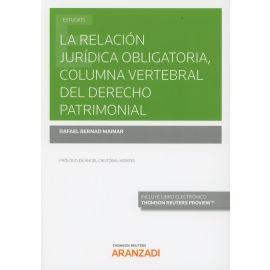 Relación jurídica obligatoria, columna vertebral del derecho patrimonial